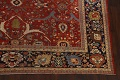Pre-1900 Antique Sultanabad Vegetable Dye Persian Rug 11x14 image 6