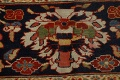 Pre-1900 Antique Sultanabad Vegetable Dye Persian Rug 11x14 image 9