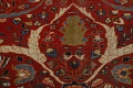 Pre-1900 Antique Sultanabad Vegetable Dye Persian Rug 11x14 image 10