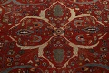 Pre-1900 Antique Sultanabad Vegetable Dye Persian Rug 11x14 image 13