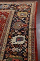 Pre-1900 Antique Sultanabad Vegetable Dye Persian Rug 11x14 image 15