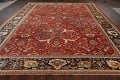 Pre-1900 Antique Sultanabad Vegetable Dye Persian Rug 11x14 image 17