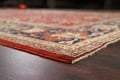 Pre-1900 Antique Sultanabad Vegetable Dye Persian Rug 11x14 image 7