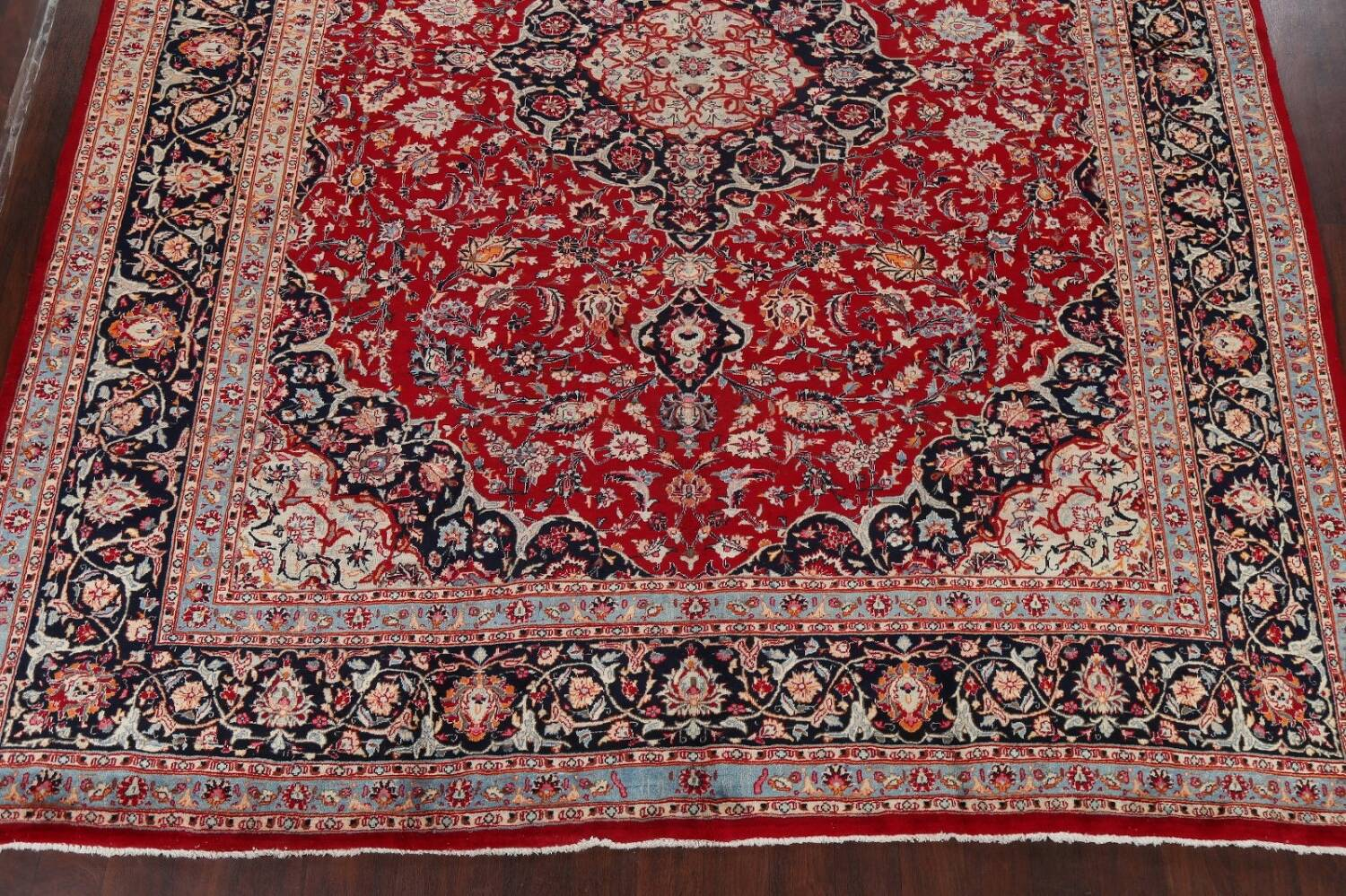 Floral Kashmar Persian Red Area Rug 10x13 image 8