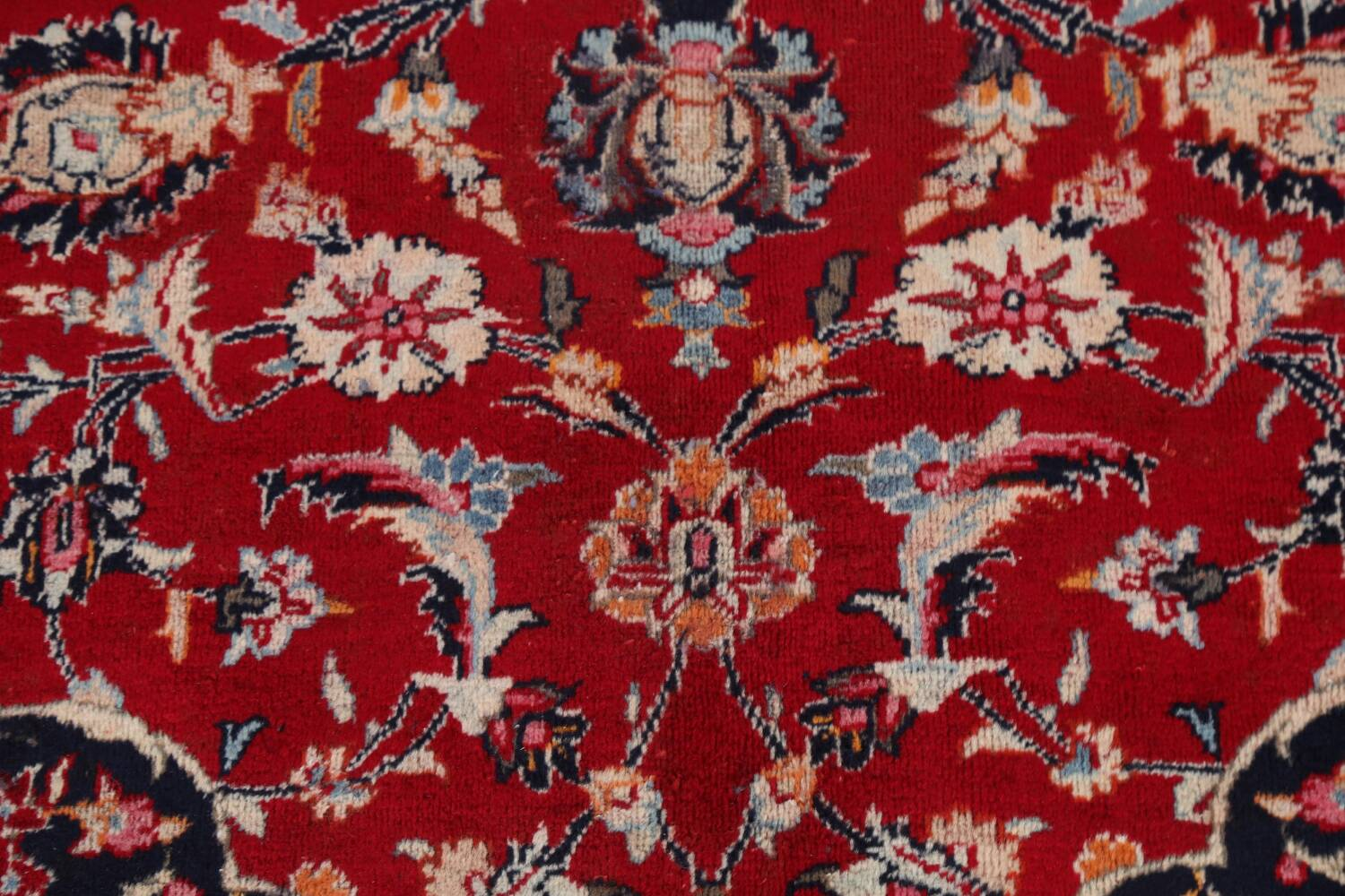 Floral Kashmar Persian Red Area Rug 10x13 image 10