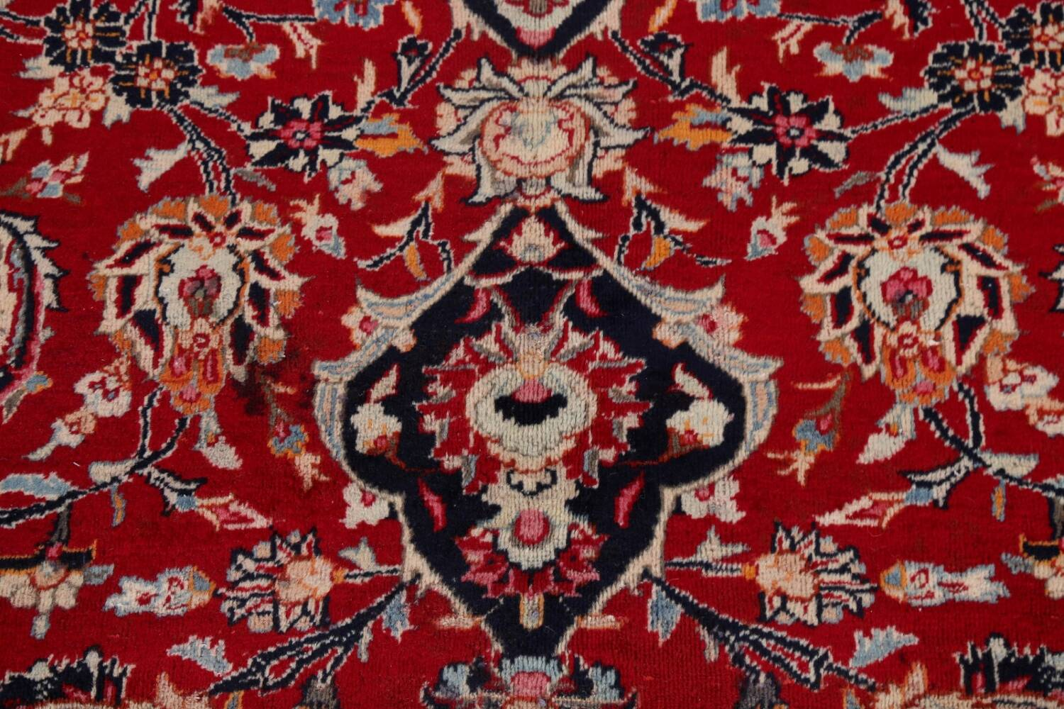 Floral Kashmar Persian Red Area Rug 10x13 image 11