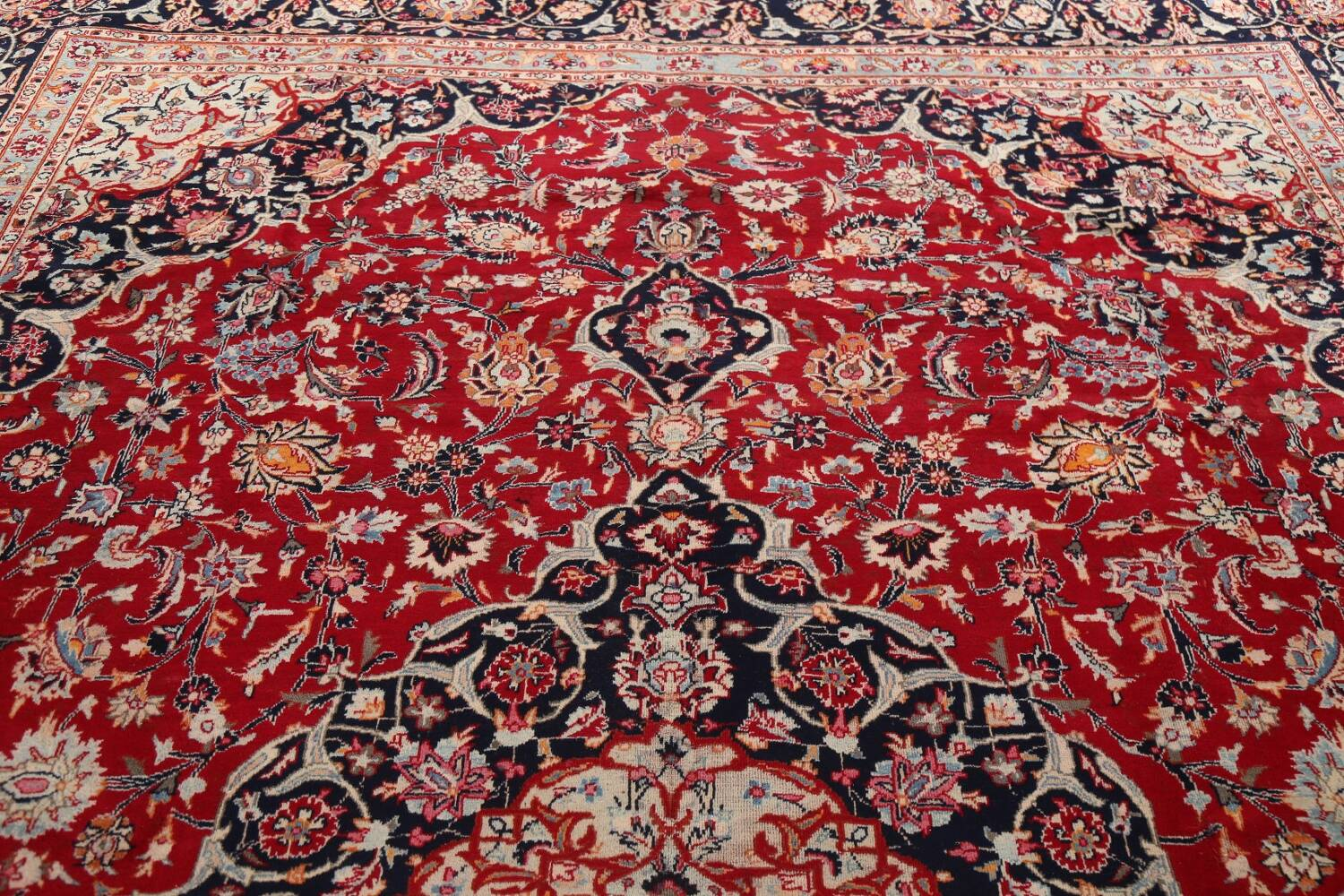 Floral Kashmar Persian Red Area Rug 10x13 image 17
