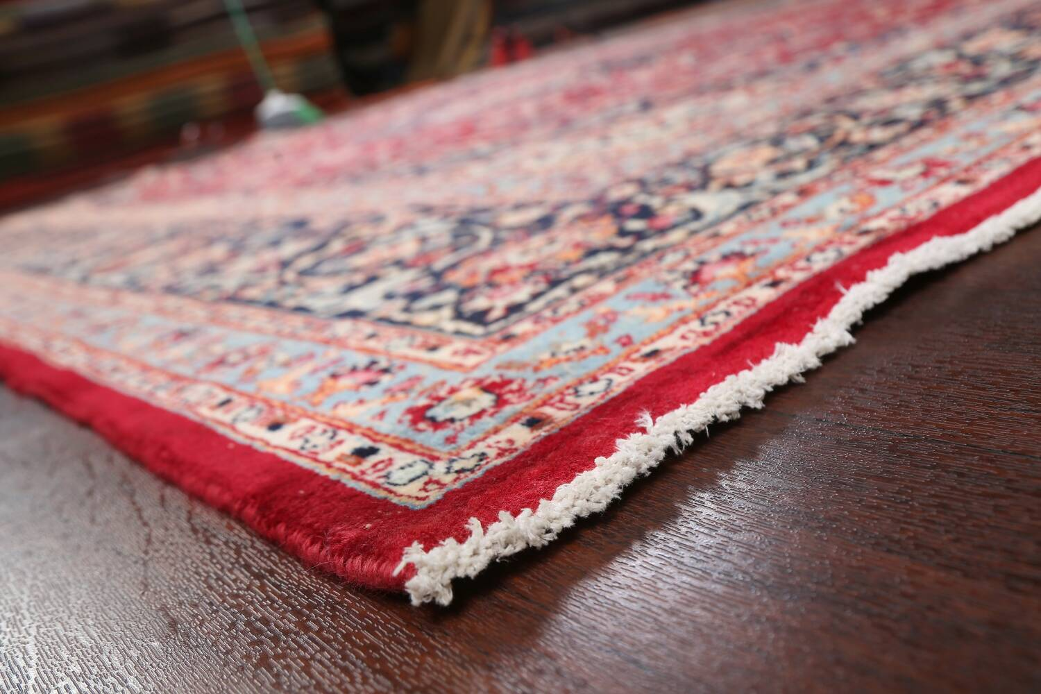 Floral Kashmar Persian Red Area Rug 10x13 image 6