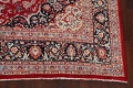 Floral Kashmar Persian Red Area Rug 10x13 image 5