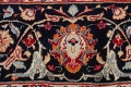 Floral Kashmar Persian Red Area Rug 10x13 image 9