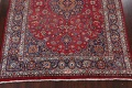 Vintage Floral Mashad Persian Red Area Rug 8x11 image 8
