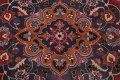 Vintage Floral Mashad Persian Red Area Rug 8x11 image 12