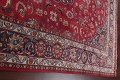 Vintage Floral Mashad Persian Red Area Rug 8x11 image 14