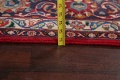 Vintage Floral Mashad Persian Red Area Rug 8x11 image 20