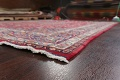 Vintage Floral Mashad Persian Red Area Rug 8x11 image 6