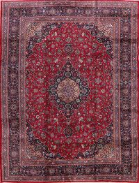 Floral Kashmar Persian Red Area Rug 10x13