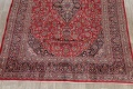 Vintage Floral Mashad Persian Red Area Rug 9x13 image 8