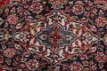 Vintage Floral Mashad Persian Red Area Rug 9x13 image 12