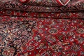 Vintage Floral Mashad Persian Red Area Rug 9x13 image 22