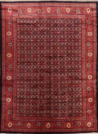 All-Over Geometric Mahal Persian Area Rug 11x16 Large