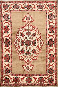 Geometric Bidjar Persian Area Rug 4x6