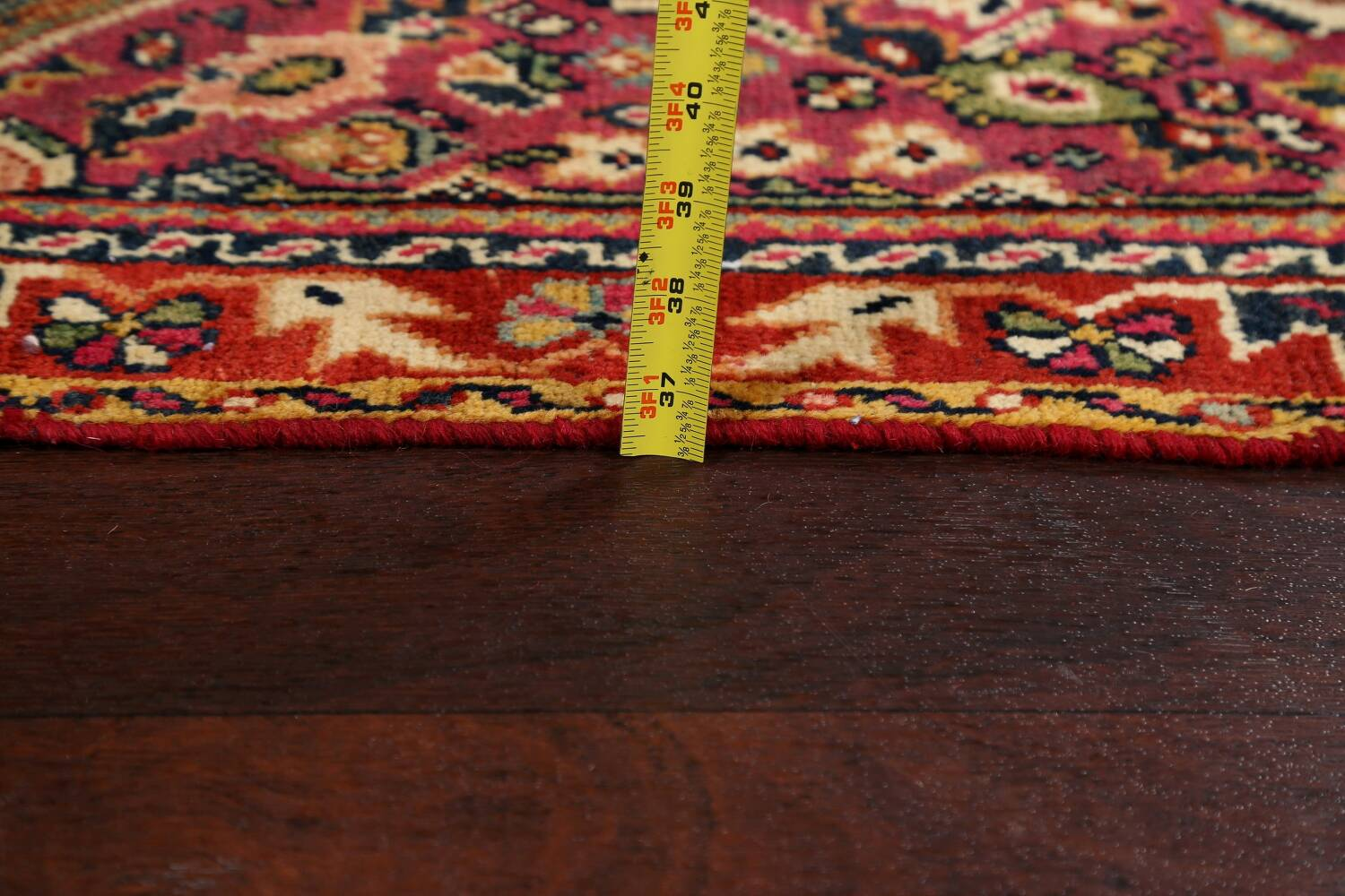 100% Vegetable Dye Antique Sultanabad Persian Area Rug 4x6 image 20