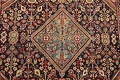 100% Vegetable Dye Antique Sultanabad Persian Area Rug 4x6 image 4