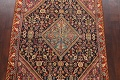 100% Vegetable Dye Antique Sultanabad Persian Area Rug 4x6 image 3