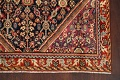 100% Vegetable Dye Antique Sultanabad Persian Area Rug 4x6 image 5