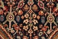 100% Vegetable Dye Antique Sultanabad Persian Area Rug 4x6 image 9