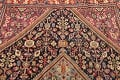 100% Vegetable Dye Antique Sultanabad Persian Area Rug 4x6 image 13