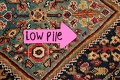 100% Vegetable Dye Antique Sultanabad Persian Area Rug 4x6 image 11