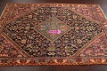 100% Vegetable Dye Antique Sultanabad Persian Area Rug 4x6 image 12