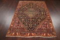 100% Vegetable Dye Antique Sultanabad Persian Area Rug 4x6 image 16