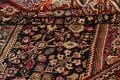 100% Vegetable Dye Antique Sultanabad Persian Area Rug 4x6 image 17