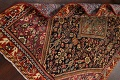 100% Vegetable Dye Antique Sultanabad Persian Area Rug 4x6 image 18