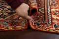100% Vegetable Dye Antique Sultanabad Persian Area Rug 4x6 image 19