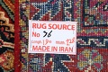 100% Vegetable Dye Antique Sultanabad Persian Area Rug 4x6 image 22
