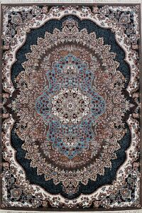 Geometric Tabriz Turkish Area Rug 8x11