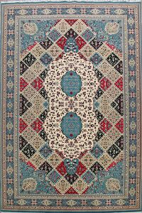 Garden Design Tabriz Turkish Area Rug 10x17 Large