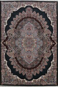 Traditional Floral Tabriz Turkish Area Rug 8x11