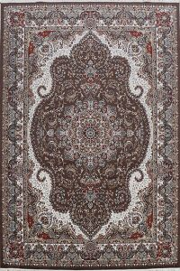 Floral Traditional Tabriz Turkish Area Rug 8x11