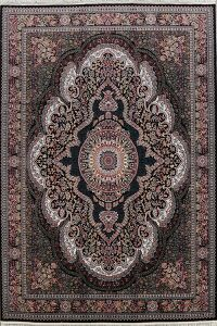 Floral Tabriz Turkish Heat-Set Area Rug 8x12