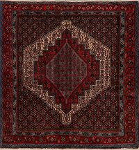 Geometric Bidjar Persian Area Rug 4x5