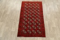 All-Over Red Geometric Balouch Persian Area Rug 3x6 image 2