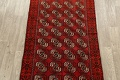 All-Over Red Geometric Balouch Persian Area Rug 3x6 image 3