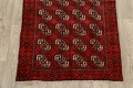 All-Over Red Geometric Balouch Persian Area Rug 3x6 image 8