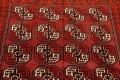 All-Over Red Geometric Balouch Persian Area Rug 3x6 image 13