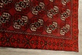 All-Over Red Geometric Balouch Persian Area Rug 3x6 image 14