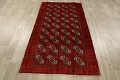 All-Over Red Geometric Balouch Persian Area Rug 3x6 image 16
